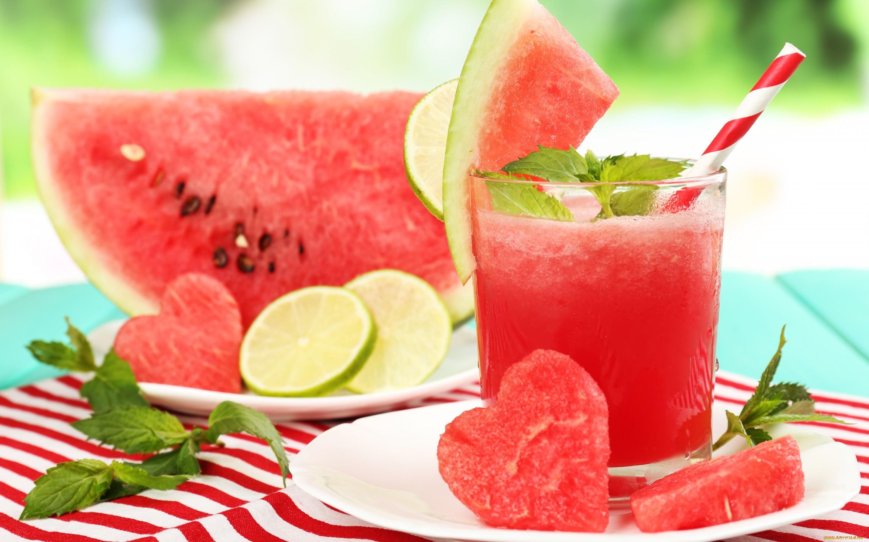 Напиток из арбуза картинки